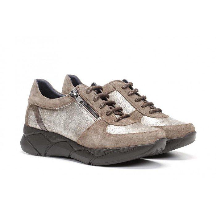 Zapatos Deportivos mujer Dorking Cocoa D8418 Marrón Fango