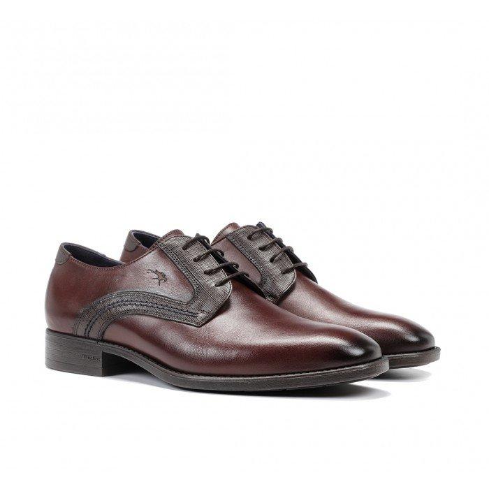 Zapatos Vestir Hombre Fluchos Luke F1053 Castaño