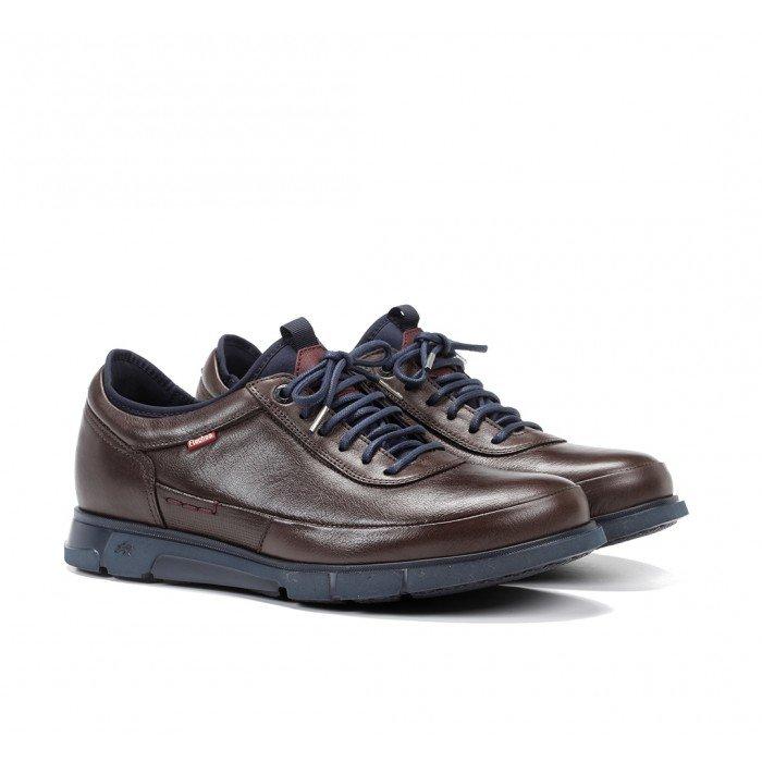 Zapatos Hombre Fluchos Tiger 9852 Brandy