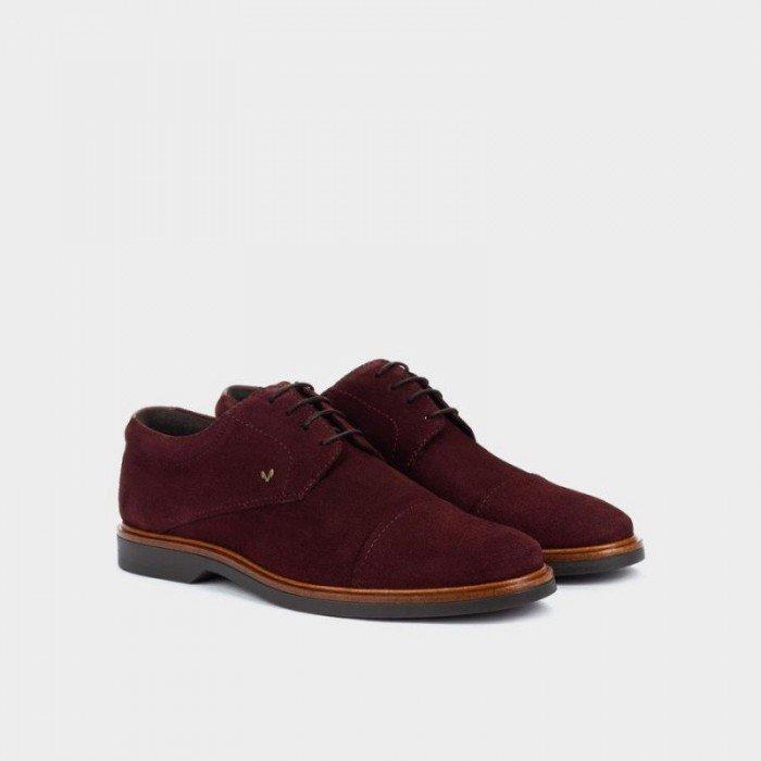 Zapatos Hombre Blucher Martinelli Lenny 1384-1683X Marrón Cacao.