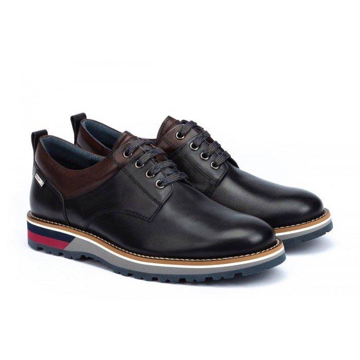 Zapatos Hombre Pikolinos Pirineos M6S-4015 Negro
