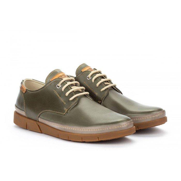 Zapatos Hombre Pikolinos Palamos M0R-4339C1 Verde Pickle