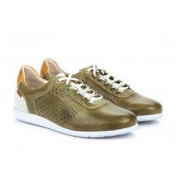 Zapatos Hombre Pikolinos Faro M9F-6245 Verde Cactus