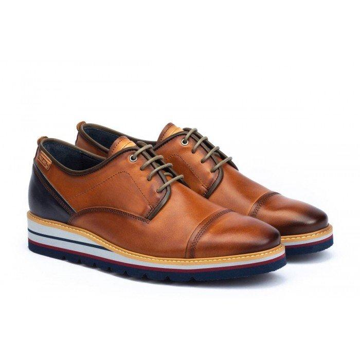 Zapatos Cordones Pikolinos Durcal M8P-4008C1 Brandy