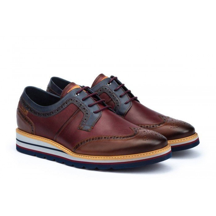 Zapatos Hombre Pikolinos Durcal M8P-4009C1 Cuero