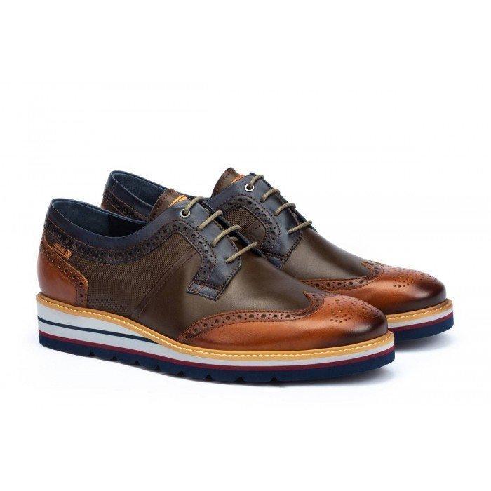 Zapatos Hombre Pikolinos Durcal M8P-4009C1 Brandy