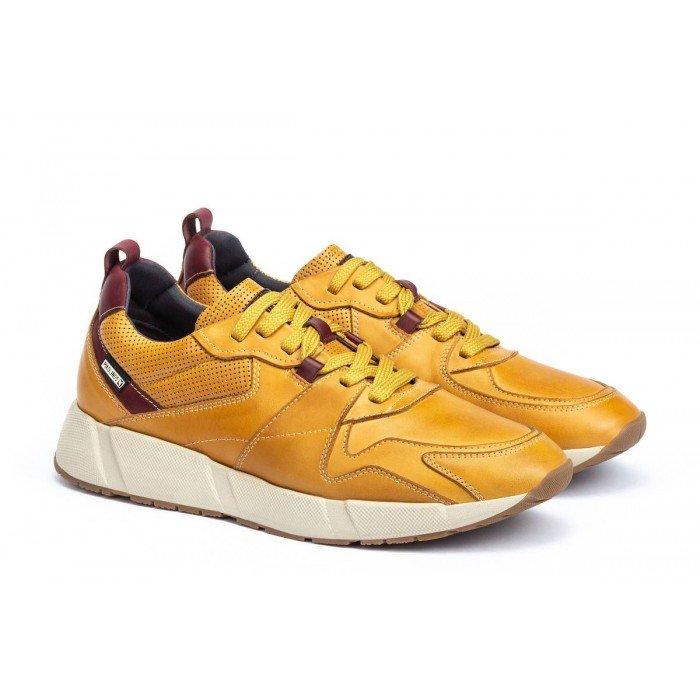 Zapatos Hombre Pikolinos Meliana M6P-6002C1 Amarillo Honey
