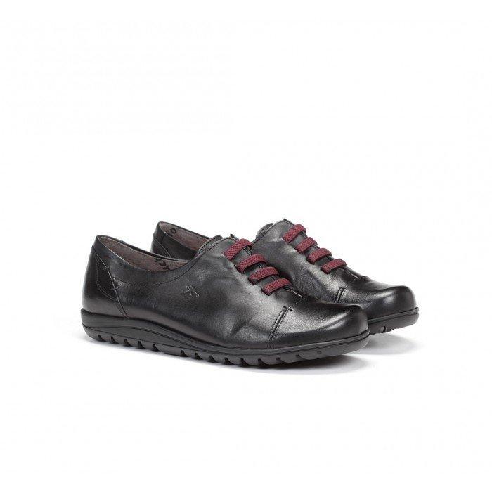 Zapatos Mujer Dorking Evel 8876 Negro