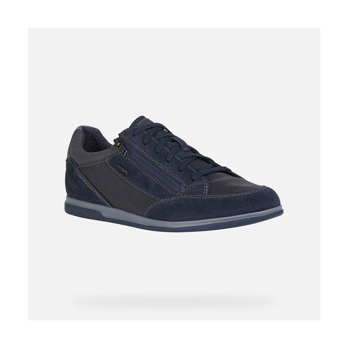 Zapatos Deportivos Hombre Geox U Renan A Azul Marino