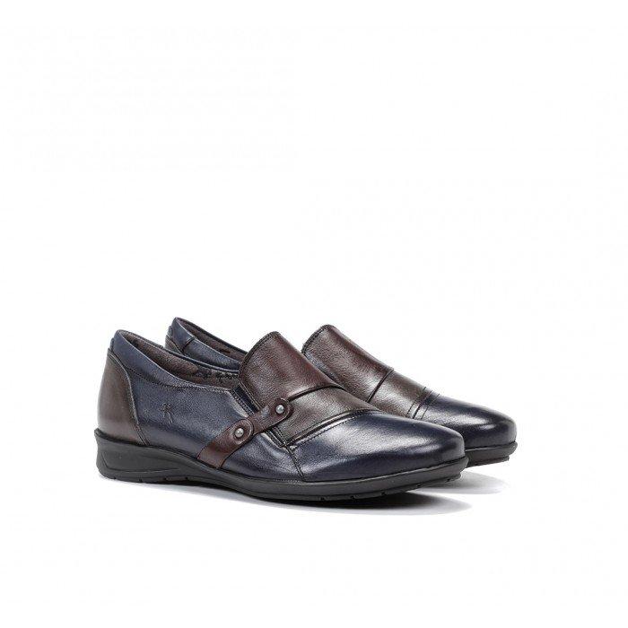 Zapatos Mujer Dorking Noa F0943 Océano