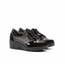 Zapatos Mujer Fluchos Manny F1020 Negro