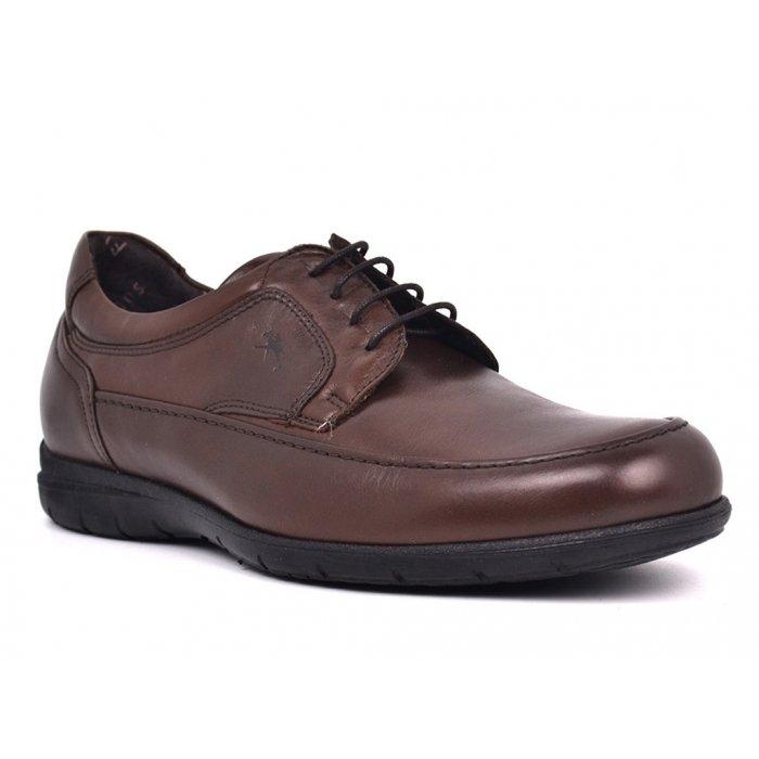 Zapatos Hombre Fluchos Luca 8498 Marrón Café