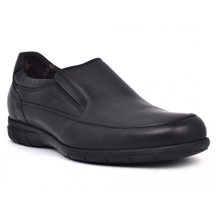 Zapatos Hombre Fluchos 8499 Negro Luca