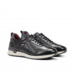 Zapatos Hombre Fluchos Emory F1031 Negro