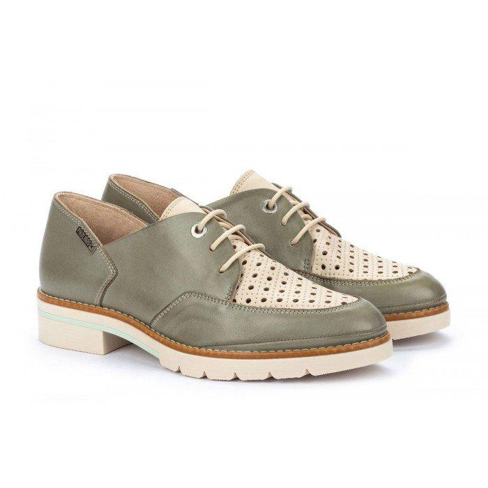 Zapatos Mujer Pikolinos Sitges W7J-4916C1 Gris Sage