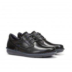 Zapatos Hombre Fluchos Alfa F1024 Negro