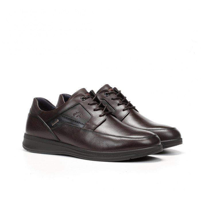 Zapatos Impermeables Hombre Fluchos Orson F0911 Castaño