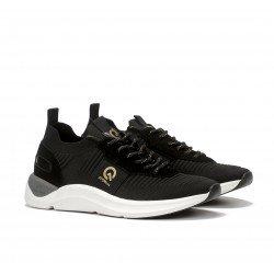 Zapatos Deportivos Hombre Fluchos Atom F1109 Negro