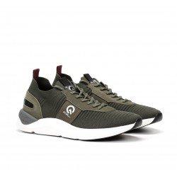 Zapatos Deportivos Hombre Fluchos Atom F1109 Khaki