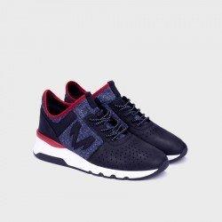 Zapatos Hombre Martinelli Newport 1513-2555J Azul Marino