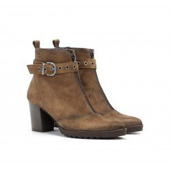 Botines Mujer Dorking Thais D8300 Crusca