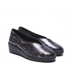 Zapatos Mujer 24 Hrs 24735 Gris Oscuro