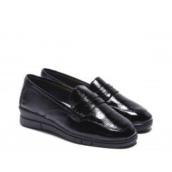 Mocasines Mujer 24 Hrs 24667 Negro