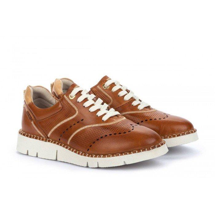 Zapatos Mujer Pikolinos Vera W4L-6874 Cuero Brandy