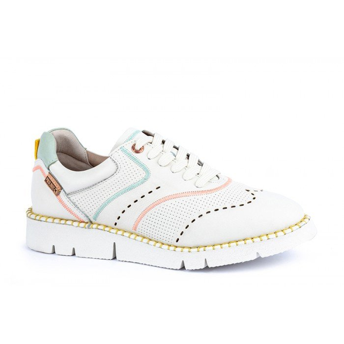 Zapatos Mujer Pikolinos Vera W4L-6874 Blanco Nata