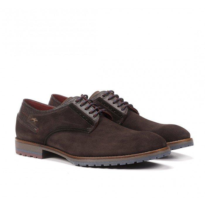 Zapatos Hombre Fluchos Ciclope F0273 Afelpado Café