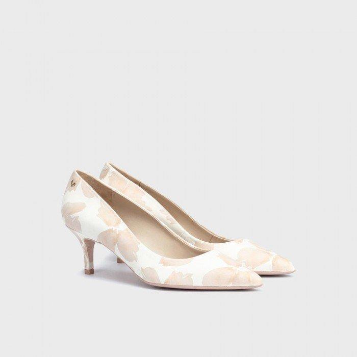 Zapatos Mujer Martinelli Fontaine 1490-3438V Blanco Nude