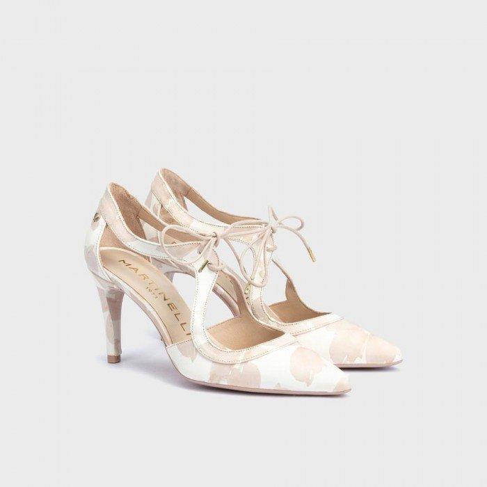 Zapatos Mujer Martinelli Thelma 1489-3498V Blanco Nude
