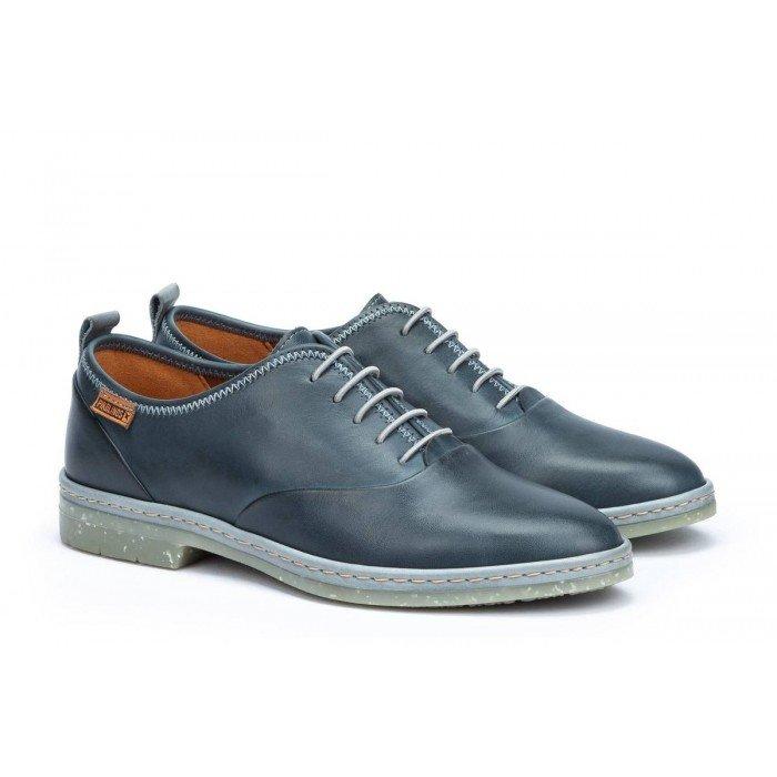 Zapatos Mujer Pikolinos Santander W7C-4546 Azul Sapphire