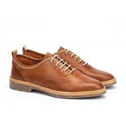 Zapatos Mujer Pikolinos Santander W7C-4546 Cuero Brandy