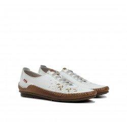 Zapatos Mujer Fluchos Esla F1181 Blanco Hielo
