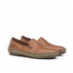 Zapatos Mocasín Hombre Fluchos Dorian F1174 Cuero