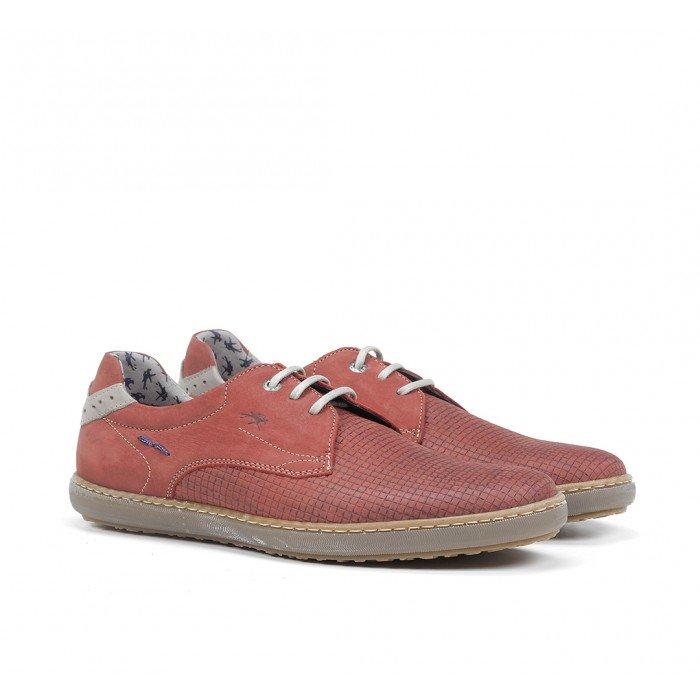 Zapatos Hombre Fluchos Timor F0715 Terracota
