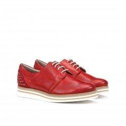 Zapatos Mujer Dorking  Romy D8181 Rojo