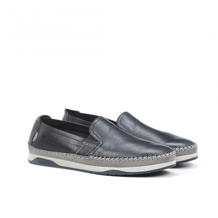 Zapatos Hombre Fluchos Kendal F0810 Marino