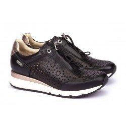 Zapatos Mujer Pikolinos Mundaka  W0J-6573 Negro