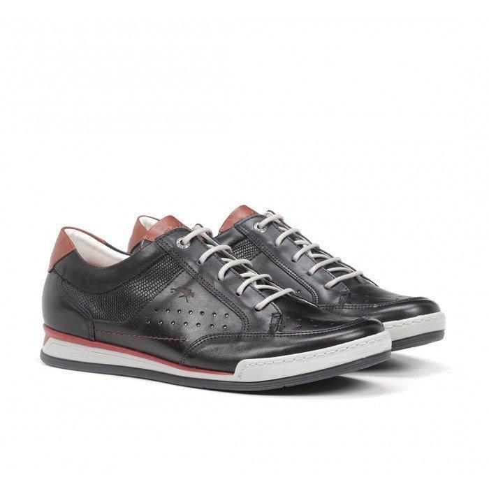Zapatos Deportivos Hombre Fluchos Etna F0145 Marino
