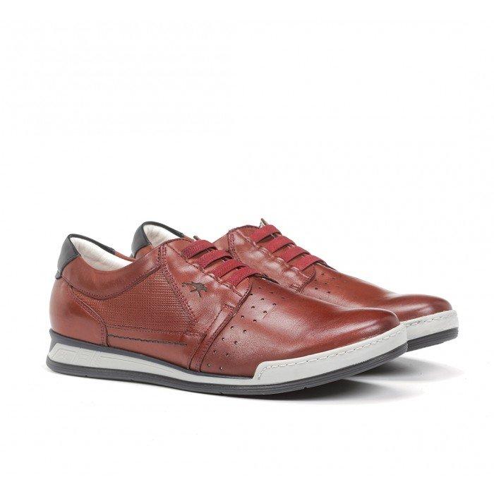 Zapatos Deportivos Hombre Fluchos Etna F0144 Terracota
