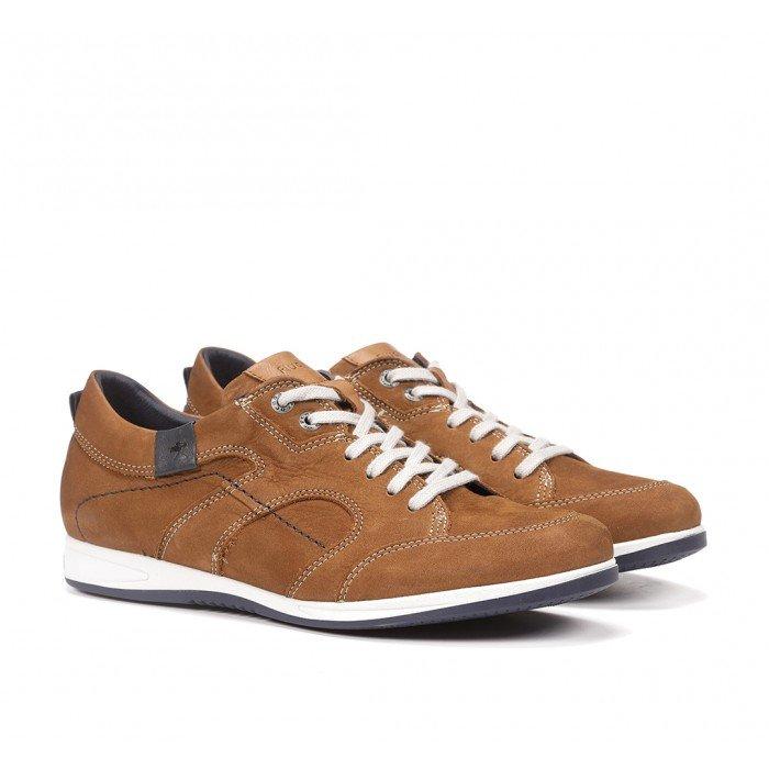 Zapatos Deportivos Hombre Fluchos Daniel 9734 Cuero