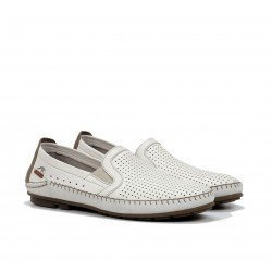 Zapatos Mocasines Hombre Fluchos Dorian F1177 Hielo