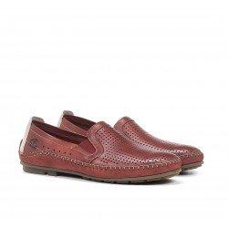 Zapatos Mocasines Hombre Fluchos Dorian F1177 Terracota