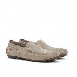 Zapatos Mocasines Hombre Fluchos Dorian F1173 Taupe