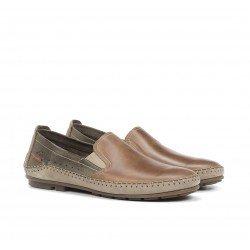 Zapatos Mocasines Hombre Fluchos Dorian F1178 Cuero