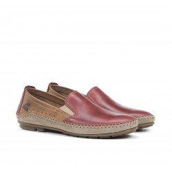 Zapatos Mocasines Hombre Fluchos Dorian F1178 Terracota