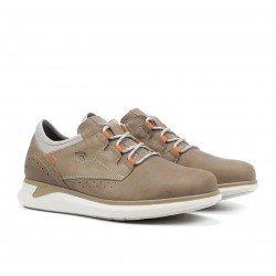 Zapatos Deportivos Hombre Fluchos Cooper F1192 Taupe