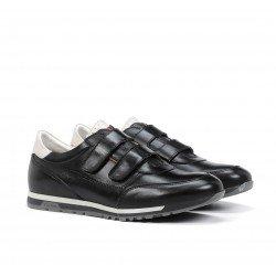 Zapatos velcro hombre Fluchos Sander F1187 Negro